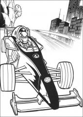 Action man v Formula 1