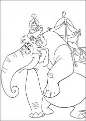 Aladin na slonu