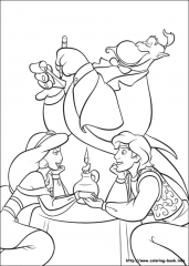 Aladin in princesa na večerji
