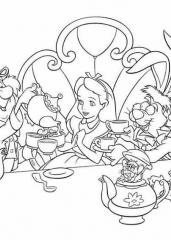 Alice na čaju