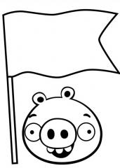 Angry Birds zastava