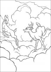 Bambi med oblaki