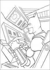 Batman v batmobilu