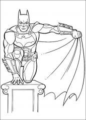 Batman z razptim plaščem