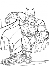 Batman v teku