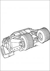 Pobarvanka batmobil