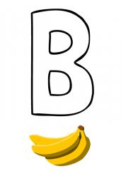 Črka B
