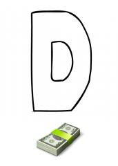 Črka D