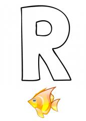 Črka R