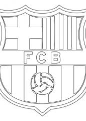 FC Barcelona pobarvanka