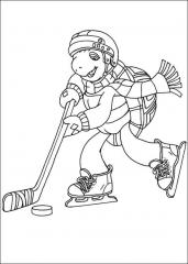 Franček hokejist