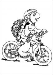 Franček na kolesu