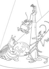 Gosenica in prijatelji