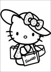 Hello Kitty gre na dopust
