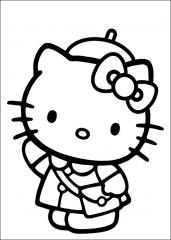 Hello Kitty šolarka