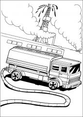 Hot Wheels gasilec