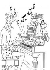 101 dalmatinci ter klavir