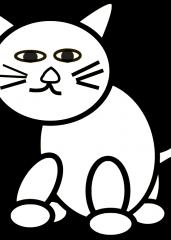 Pobarvanka mačke