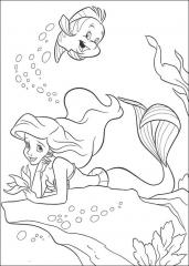 Mala morska deklica Ariel