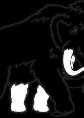 Pobarvanka mamut