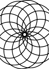 Pobarvanka mandale 9