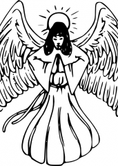 Moleči angel