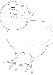 Nasmejani piščanček