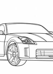 Pobarvanka Nissan 350Z