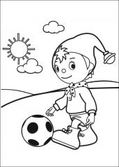 Nodi z žogo
