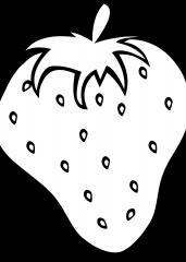 Pobarvanka jagode