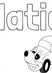 Pobarvanka imena Matic