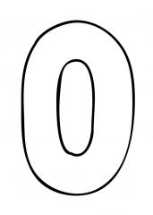 Pobarvanka števila nič