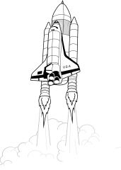 Pobarvanka Shuttle
