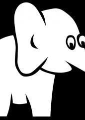 Pobarvanka majhnega slončka