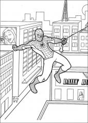 Pobarvanka Spiderman