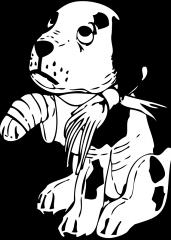 Poškodovani kužek