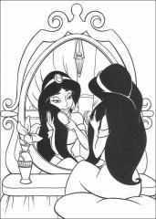 Princesa pred ogledalom