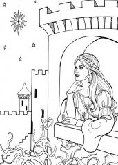 Princeska na oknu