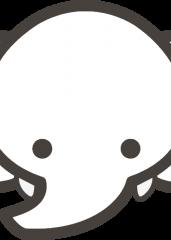Pobarvanka slon