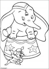 Slonček Dumbo cirkusat
