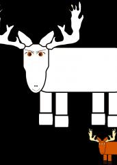 Smešni jelen