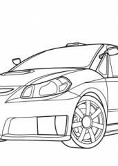 Pobarvanka Suzuki SX