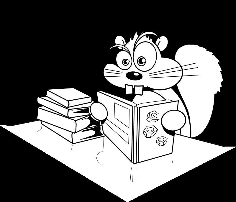 Veverica učenka