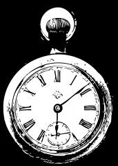 Pobarvanka žepne ure